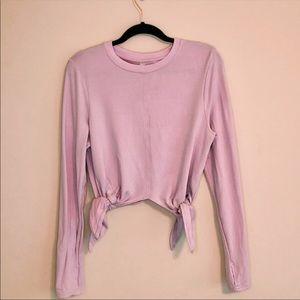 Athelta knot long sleeve pink